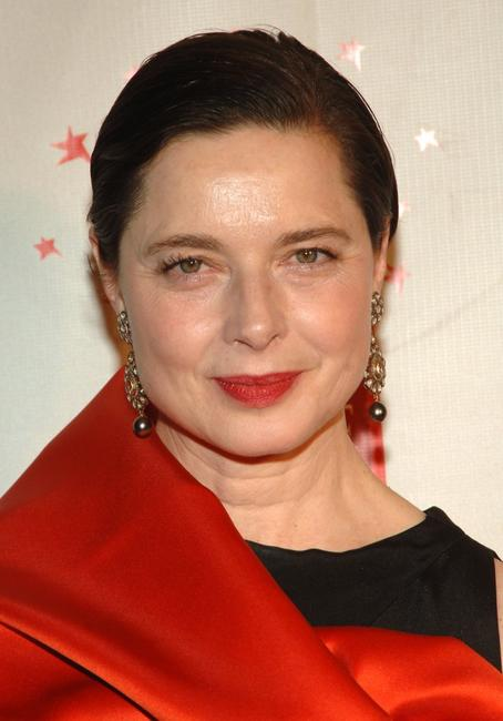 Isabella Rossellini at the celebration for Time Magazine's 100 Most Infuential People.