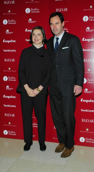 Isabella Rossellini and Kevin O'Malley at the