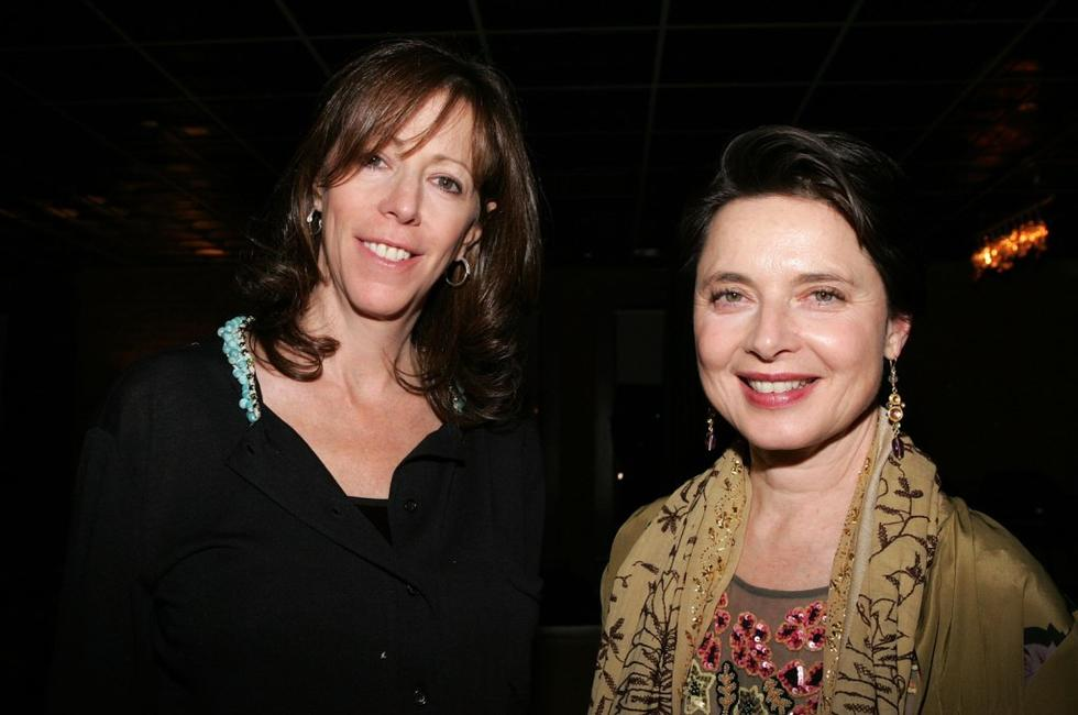 Isabella Rossellini, Jane Rosenthal at the premiere of