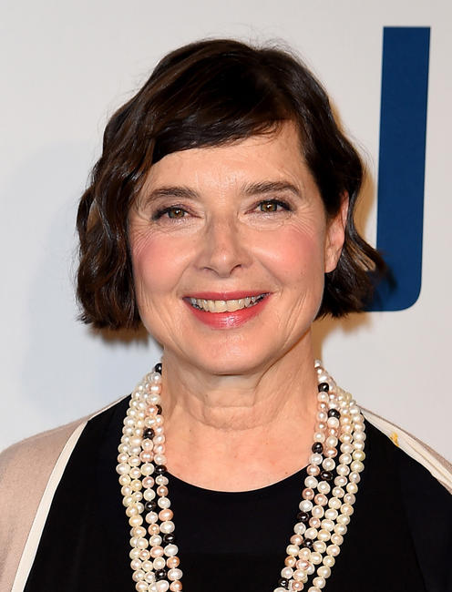 Isabella Rossellini at the New York premiere of