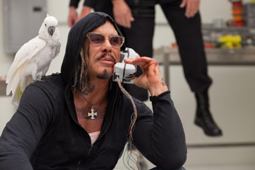 Mickey Rourke as Ivan Vanko Whiplash in
