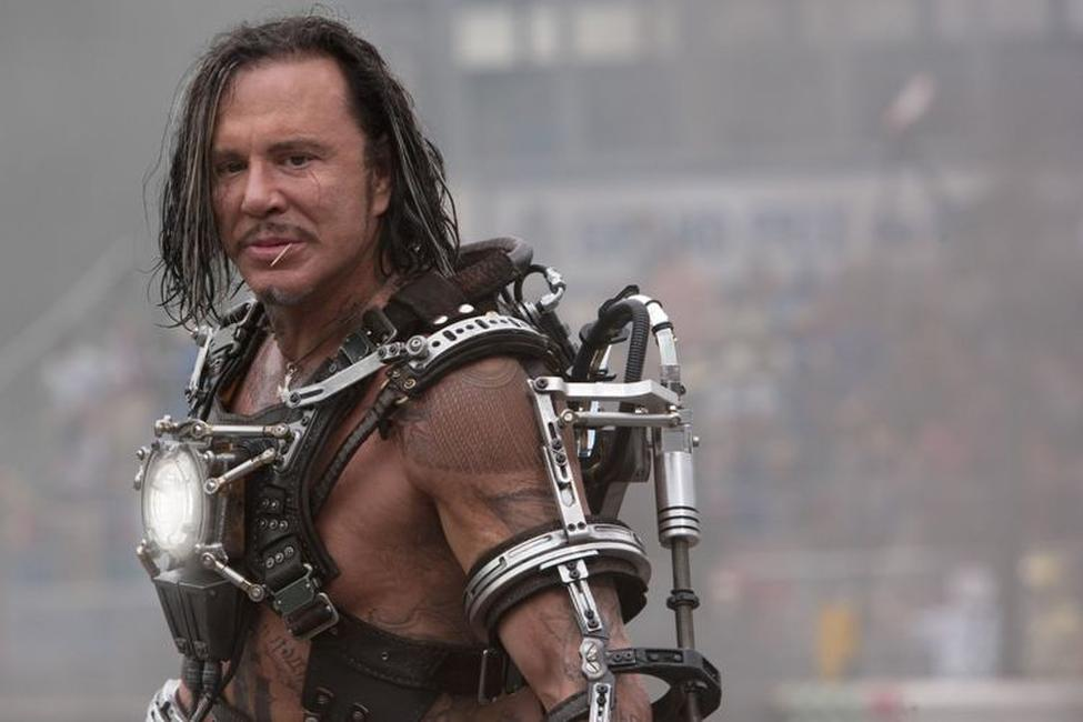 Mickey Rourke as Ivan Vanko in
