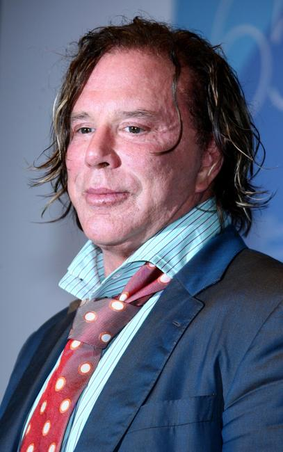 Mickey Rourke at the 65th Venice Film Festival Closing Ceremony Press Conference.