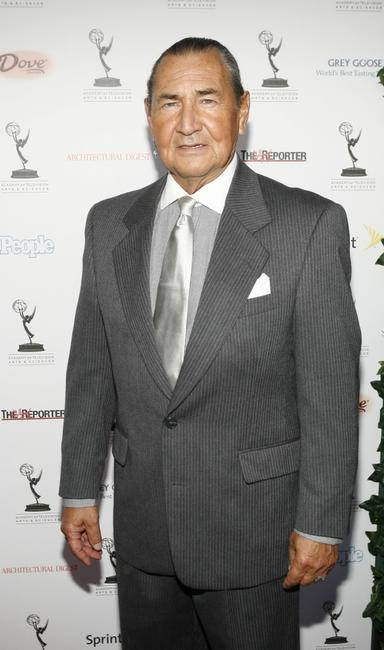 August Schellenberg at the Academy of Television Arts and Sciences 59th Annual Primetime Emmy Awards performer nominee party.
