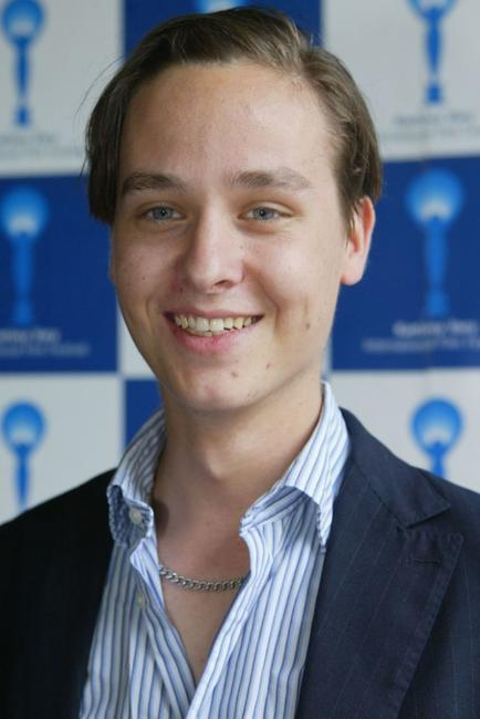 Tom Schilling at the Karlovy Vary International Film Festival.