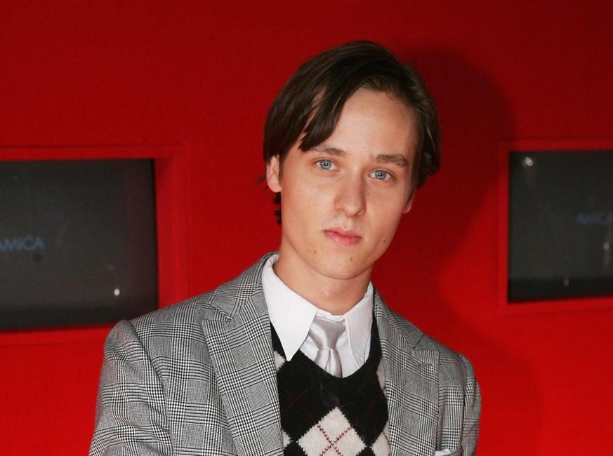 Tom Schilling at the New Faces Awards.