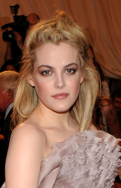 Riley Keough at the Costume Institute Gala Benefit to celebrate the opening of