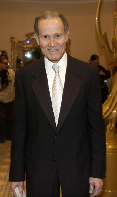 Henry Silva at the Academy of Television Arts and Sciences' 15th Annual Hall of Fame ceremony.