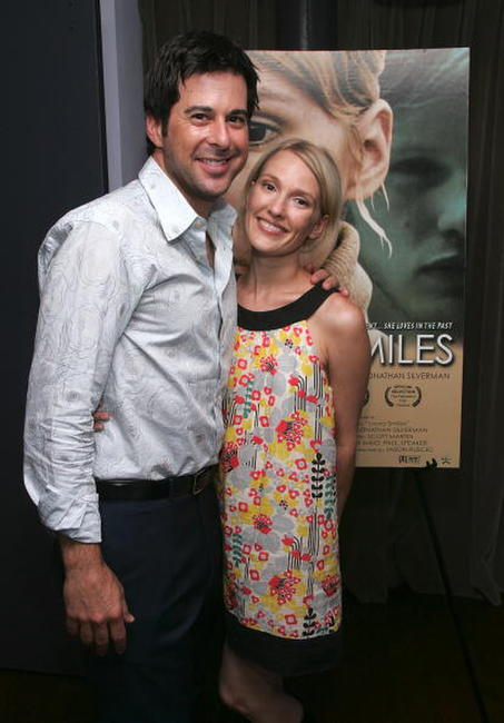 Jonathan Silverman and Petra Wright at the special screening of