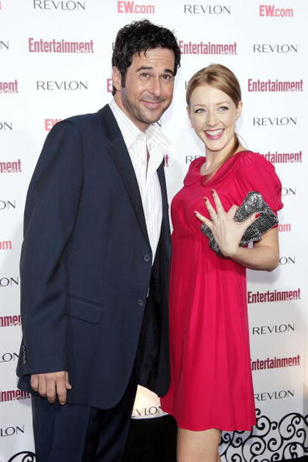 Jonathan Silverman and his wife Jennifer at the Entertainment Weekly's 5th Annual Pre-Emmy Party.