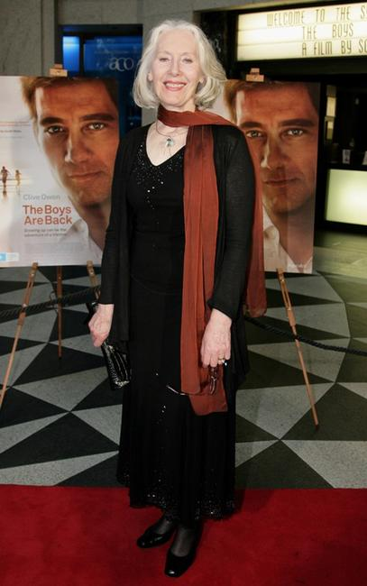 Julia Blake at the premiere of