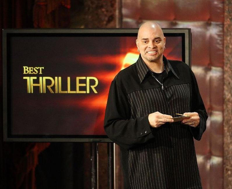 Sinbad at the Ninth Annual Golden Trailer Awards.