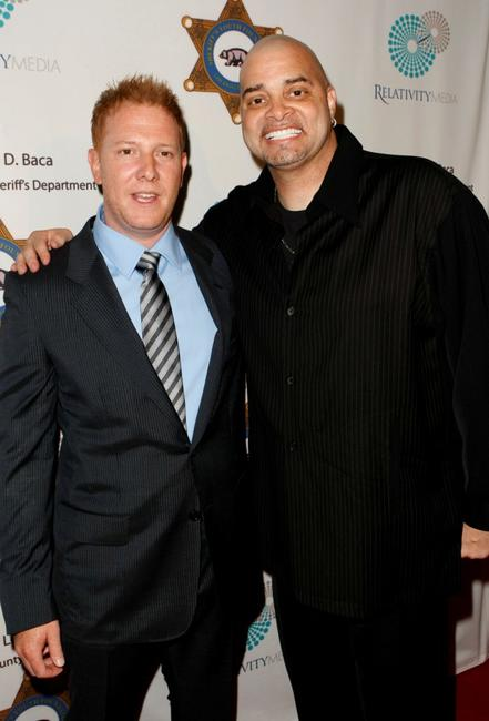 Ryan Kavanaugh and Sinbad at the 23rd Annual