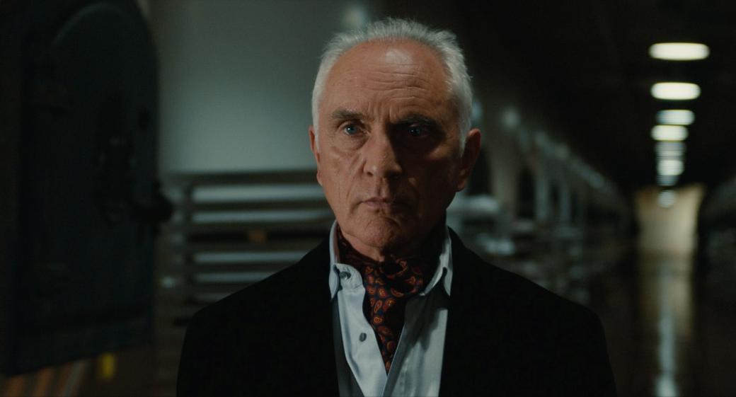 Terence Stamp as Siegfried in