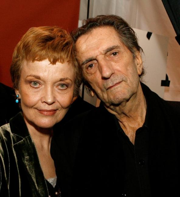 Grace Zabriskie and Harry Dean Stanton at the Centerpiece Gala after party of