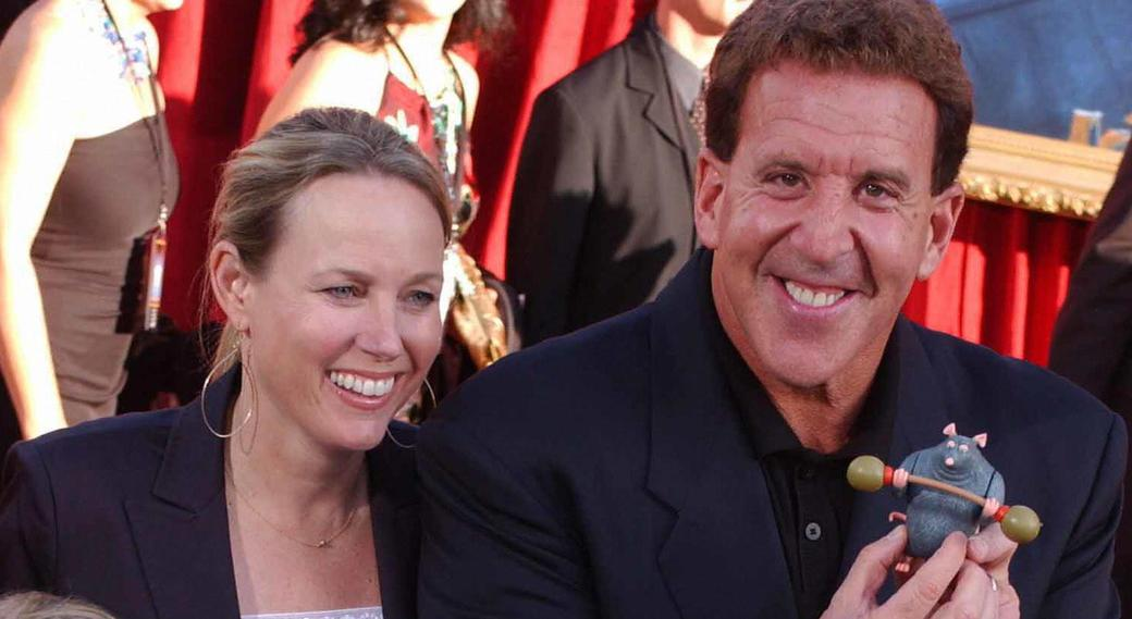 Jake Steinfeld and Guest at the world premiere of
