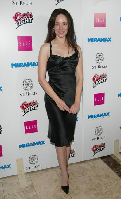 Madeleine Stowe at the Miramax Pre-Oscar Max Awards party.