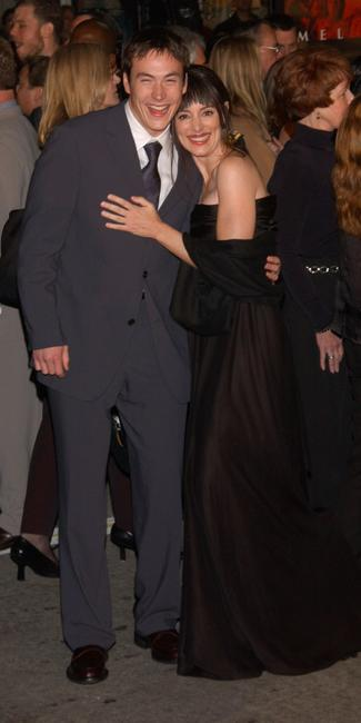 Chris Klein and Madeleine Stowe at the premiere of