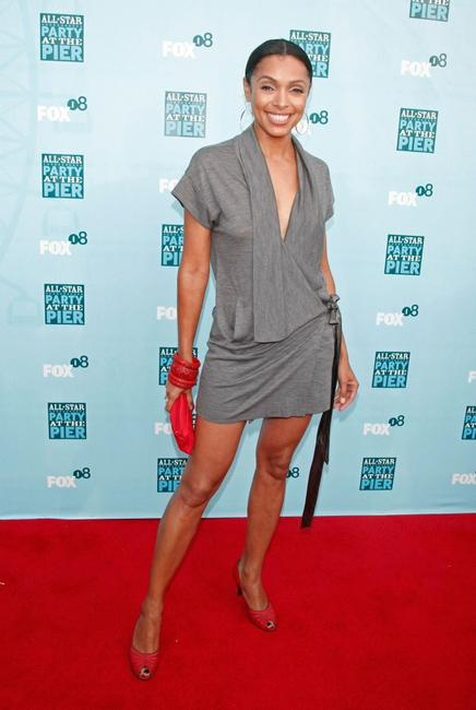 Tamara Taylor at the FOX All-Star Party.