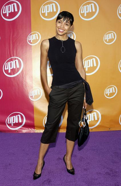 Tamara Taylor at the UPN Stars Party.