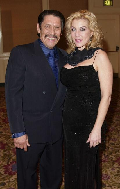 Danny Trejo and Debbie at the 8th Annual American Veteran Awards.
