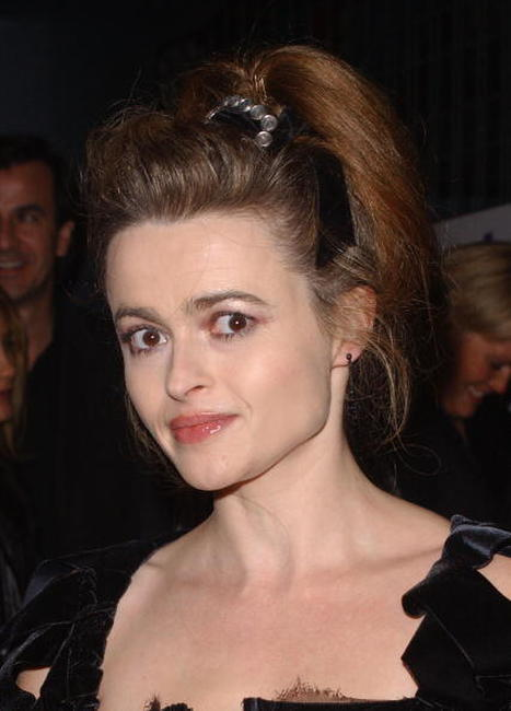 "Helena Bonham Carter at the after party for the premiere of ""Bridget Jones: The Edge of Reason"" in London."