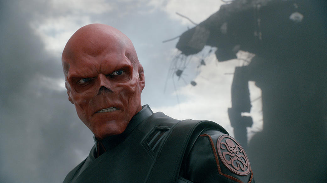 Hugo Weaving as Red Skull in