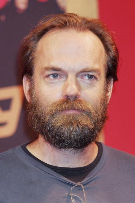 Hugo Weaving at the press conference to promote