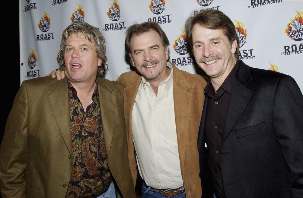 Ron White, Bill Engvill and Jeff Foxworhty at the Comedy Centrals Jeff Foxworthy Roast.