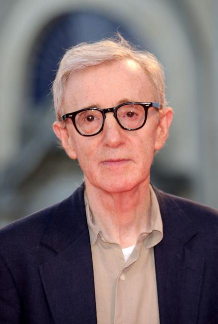 Woody Allen at the 64th Venice Film Festival.