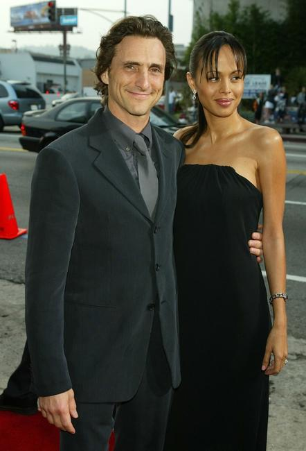 Lawrence Bender and guest at the premiere of