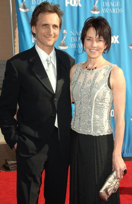 Lawrence Bender and Lesley Chilcott at the 38th annual NAACP Image Awards.
