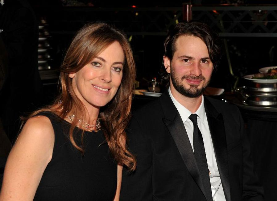 Kathryn Bigelow and Mark Boal at the 62nd Annual Directors Guild Of America Awards.