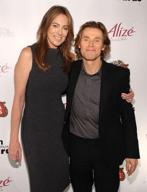 Kathryn Bigelow and Willem Dafoe at the IFP's 19th Annual Gotham Independent Film Awards.