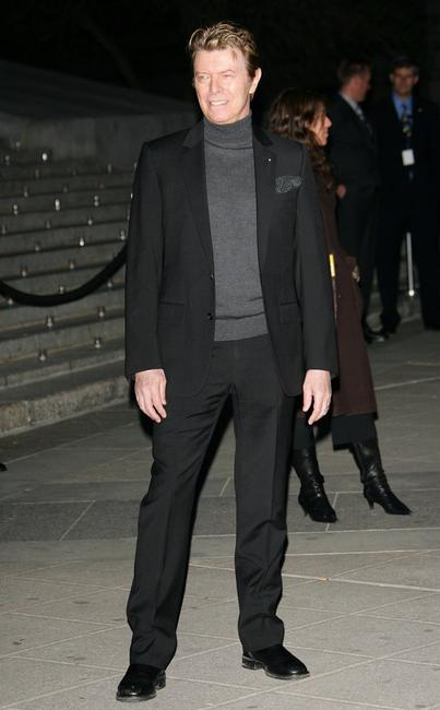 David Bowie at the Vanity Fair Tribeca Film Festival Party.