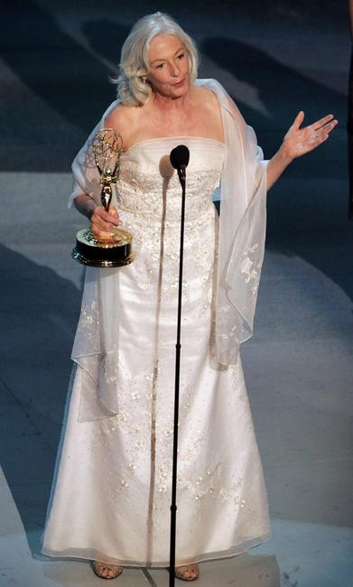 Jane Alexander at the 57th Annual Emmy Awards.