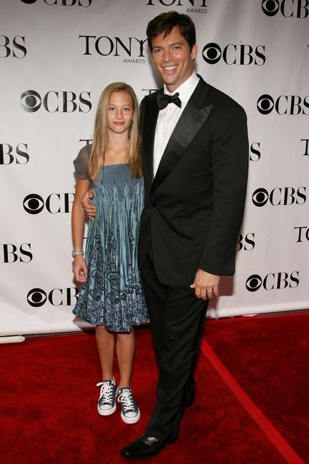 Harry Connick, Jr. and his daughter Georgia at the 62nd Annual Tony Awards.
