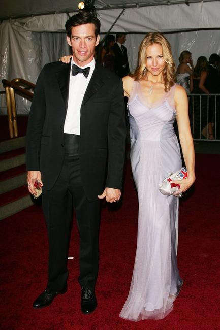 Harry Connick, Jr. and his wife Jill Goodacre at the Metropolitan Museum of Art Costume Institute Benefit Gala AngloMania: Tradition and Transgression in British Fashion.