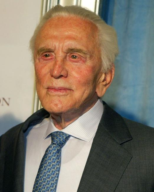 Kirk Douglas at The Heart Foundation Gala.