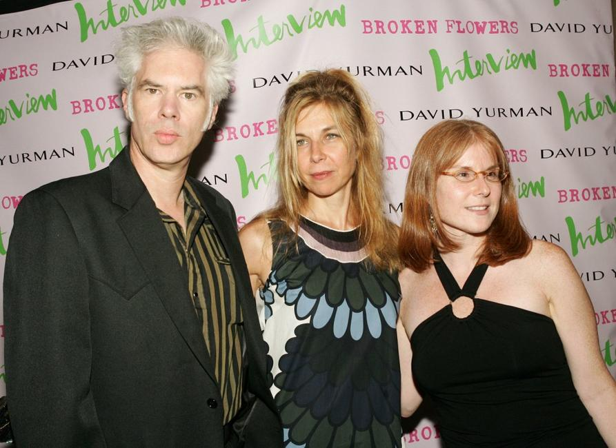 Director Jim Jarmusch, Sara Driver and producer Stacey Smith at the premiere of