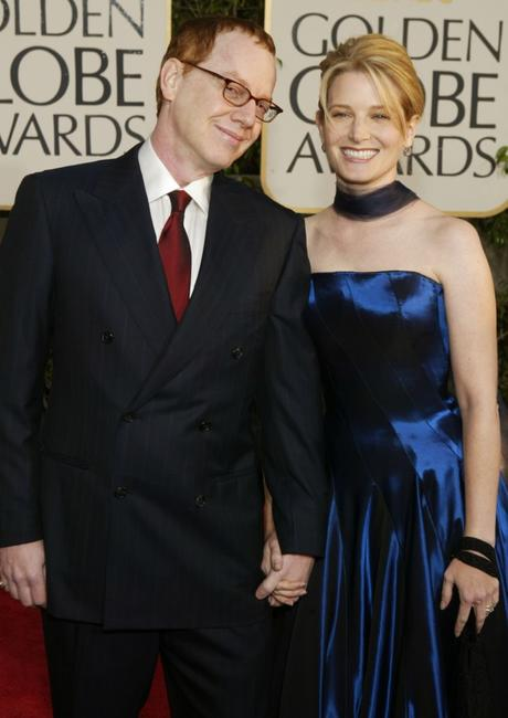Danny Elfman and Bridget Fonda at the 61st Annual Golden Globe Awards.