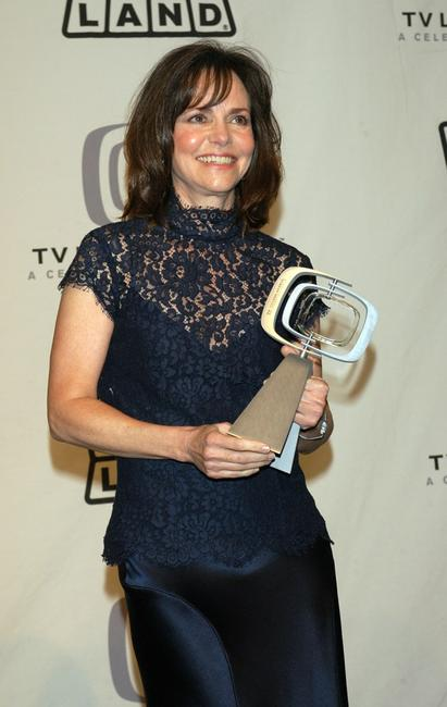 Sally Field at the press room at the 2005 TV Land Awards.
