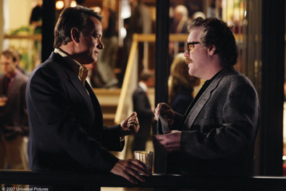 Tom Hanks and Philip Seymour Hoffman in