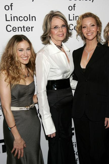 Diane Keaton, Sarah Jessica Parker and Lisa Kudrow at the Film Society of Lincoln Center Annual Gala Tribute to honor actress Diane Keaton.