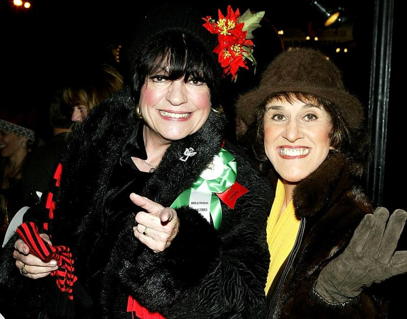 Joanne Worley and Ruth Buzzi at the 72nd Annual Hollywood Christmas Parade.