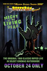 RiffTrax Live: Night of the Living Dead showtimes and tickets