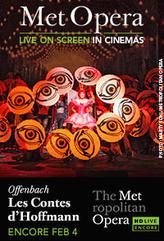 The Metropolitan Opera: Les Contes d'Hoffmann Encore showtimes and tickets