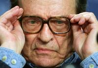 Sidney Lumet at the photocall of their movie