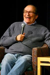 Sidney Lumet at The Academy Theater for screening of his movie