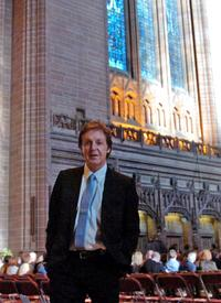 Paul McCartney at the Anglican Cathedral for the Northern Charity Premiere of his new classical work.